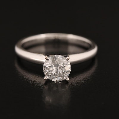 14K 1.03 CT Diamond Solitaire Ring