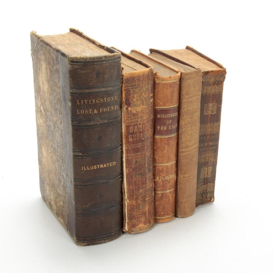 Nineteenth Century Travel and Exploration Books