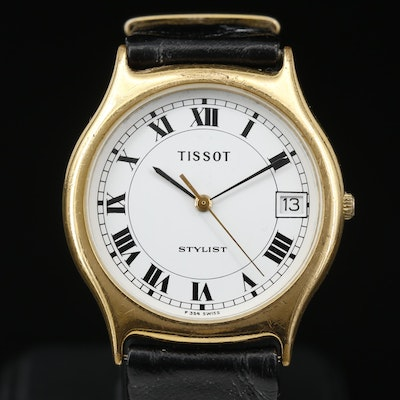 Tissot Stylist Quartz Wristwatch with Date