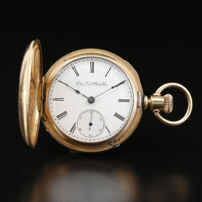 1890 Elgin National Watch Co. Gold Filled Pocket Watch