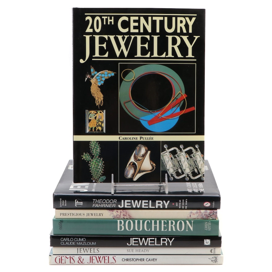 Jewelry History and Reference Books Including Boucheron History Book