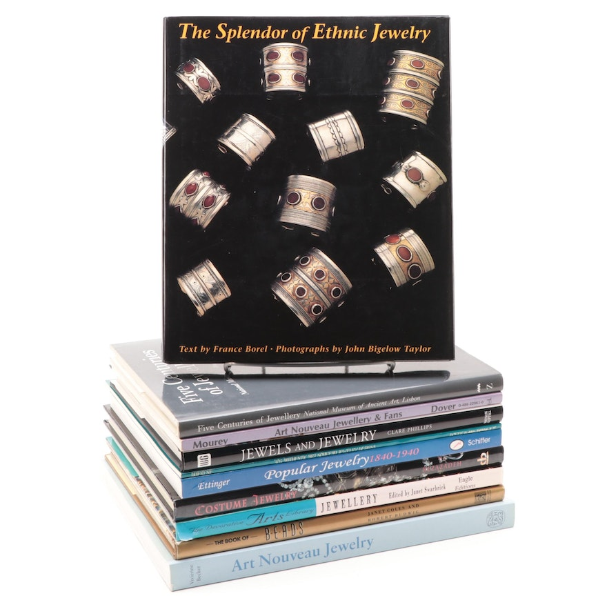 """The Splendor of Ethnic Jewelry"" and Other Jewelry Reference Books"