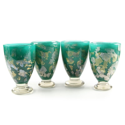 Gozo Maltese Art Glass Vases