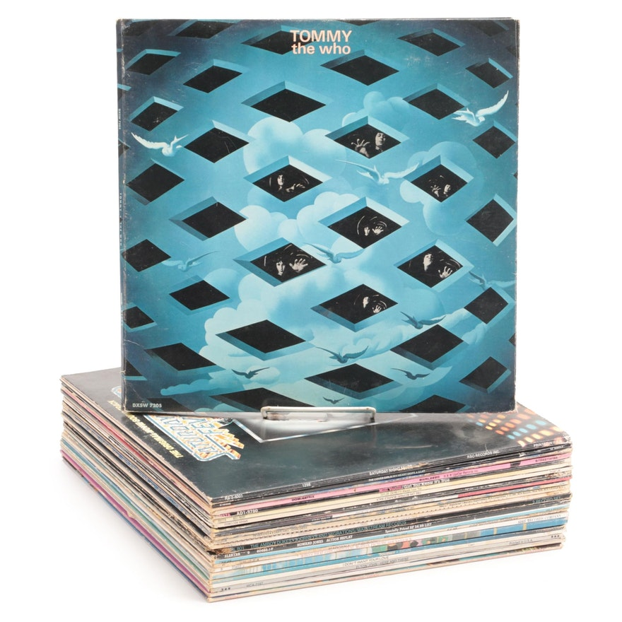 Elton John, Madonna, The Who and Other Pop, Rock, and R&B Vinyl Records