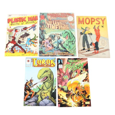 """""""Mopsy,"""" """"The Land That Time Forgot,"""" and Other Comics"""