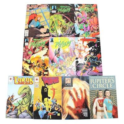 """Warriors of Plasm,"" ""Star Trek,"" ""Vanguard,"" and Other Comics"