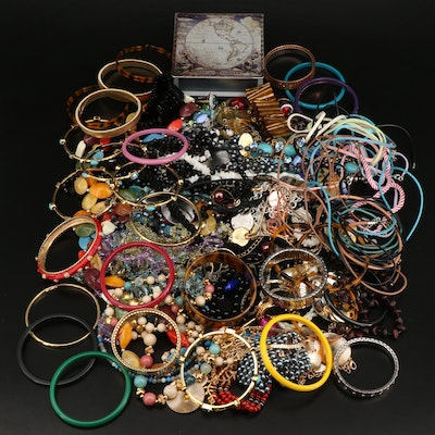 Bracelets, Necklaces, Pendants and Rings Featuring Sterling, Coral and Pearl