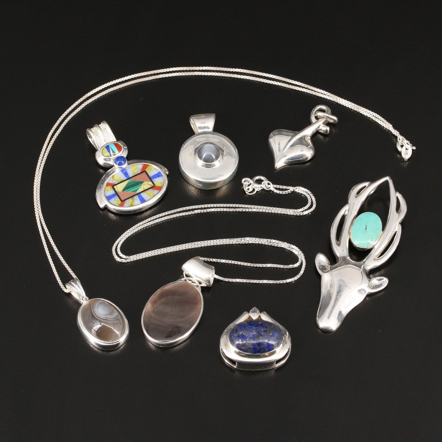 Sterling Silver Gemstone Jewelry Featuring Victoria Adams Cheyenne for Relios