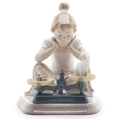 "Lladró ""How You've Grown"" Porcelain Figurine Designed by Regino Torrijos"