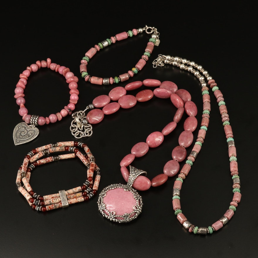 Sterling Silver Beaded Gemstone Jewelry Featuring Carolyn Pollack for Relios