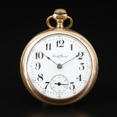 1908 South Bend Gold Filled Pocket Watch