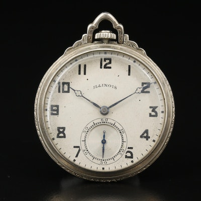 1920 Illinois Gold Filled Pocket Watch