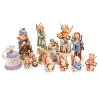 Goebel Hummel Christmas Figurines, Candle Holders and Ornaments