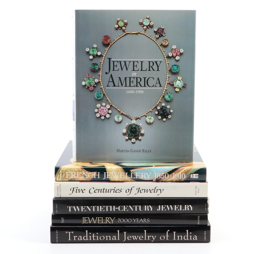 """Jewelry Reference Books Including """"The Belle Epoque of French Jewellery"""""""