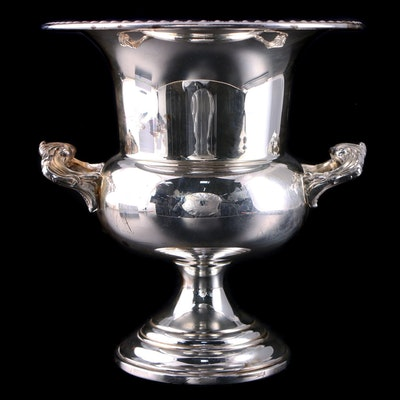 Sheridan Silver Plate Champagne Bucket, Mid to Late 20th Century