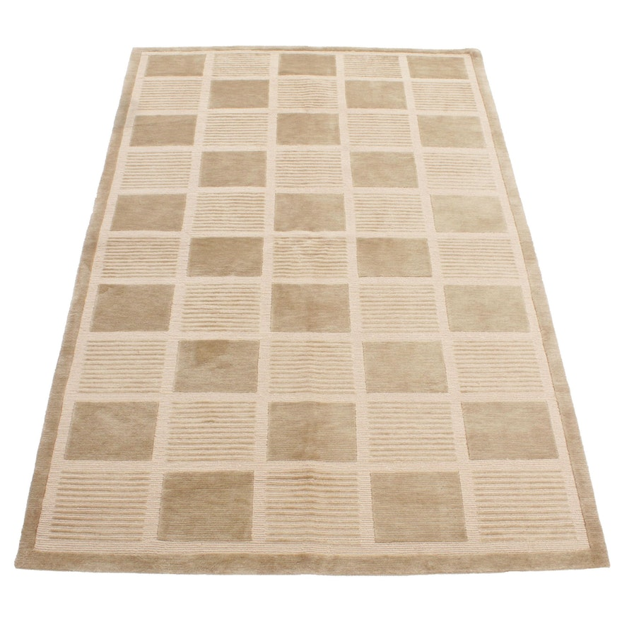 5'11 x 9'0 Handwoven Safavieh Tibetan Wool Area Rug