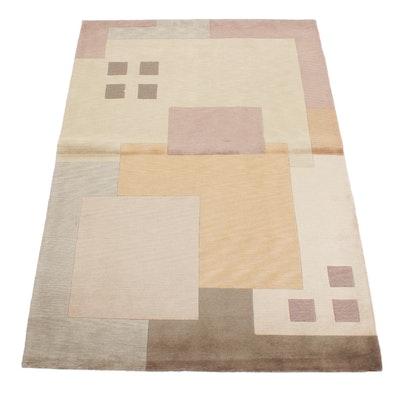 5' x 7'5 Handwoven Safavieh Tibetan Wool Area Rug