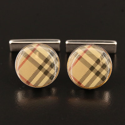 Burberry Cufflinks with Box