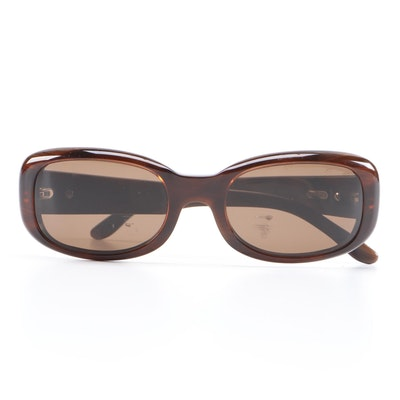 Cartier Sunglasses in Amber Brown with Case and Box