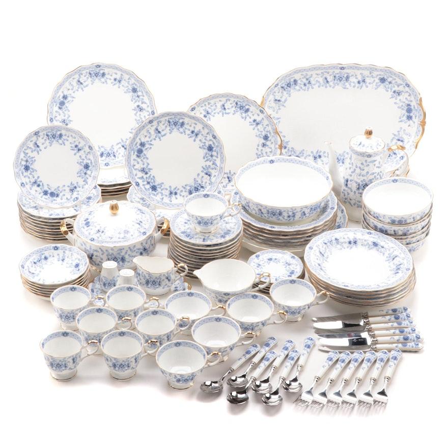 """Narumi """"Milano"""" Bone China Dinnerware, Flatware, and Coffee Set"""
