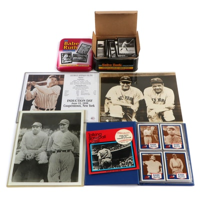 Babe Ruth New York Yankees Commemorative Baseball Collectibles