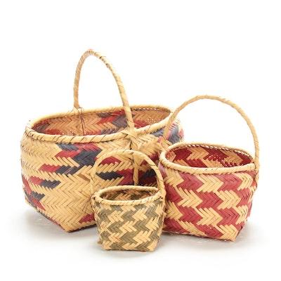 Choctaw Handwoven Baskets