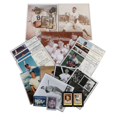 Mantle, Williams, Mays, Clemente, Berra, Ford, and DiMaggio Collectibles