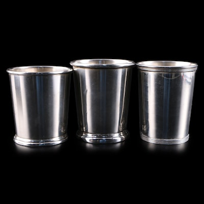 Newport and Other Sterling Silver Mint Julep Cups