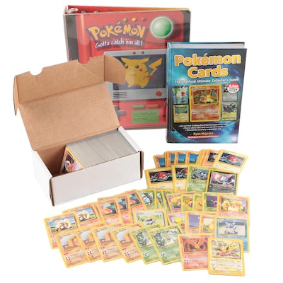Pokémon Cards, Collector's Guide, and Binder