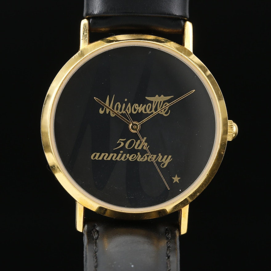 Maisonette 50th Anniversary Quartz Wristwatch
