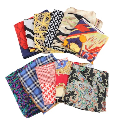 Beretta, Albert Nipon, Regalized, Delta and Other Printed Scarves