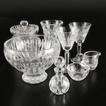 Waterford and Marquis by Waterford Crystal Stemware and Table Accessories