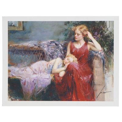 """Giuseppe Pino Giclée """"A Mother's Love"""""""