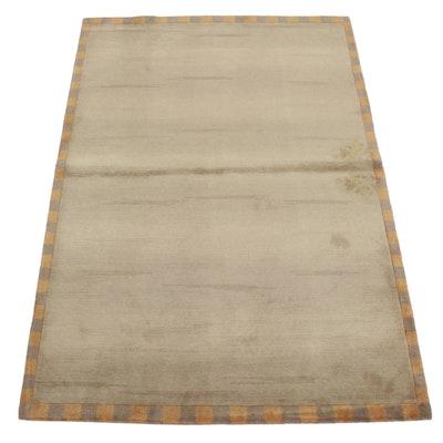 5'1 x 7'6 Handwoven Safavieh Tibetan Wool Area Rug