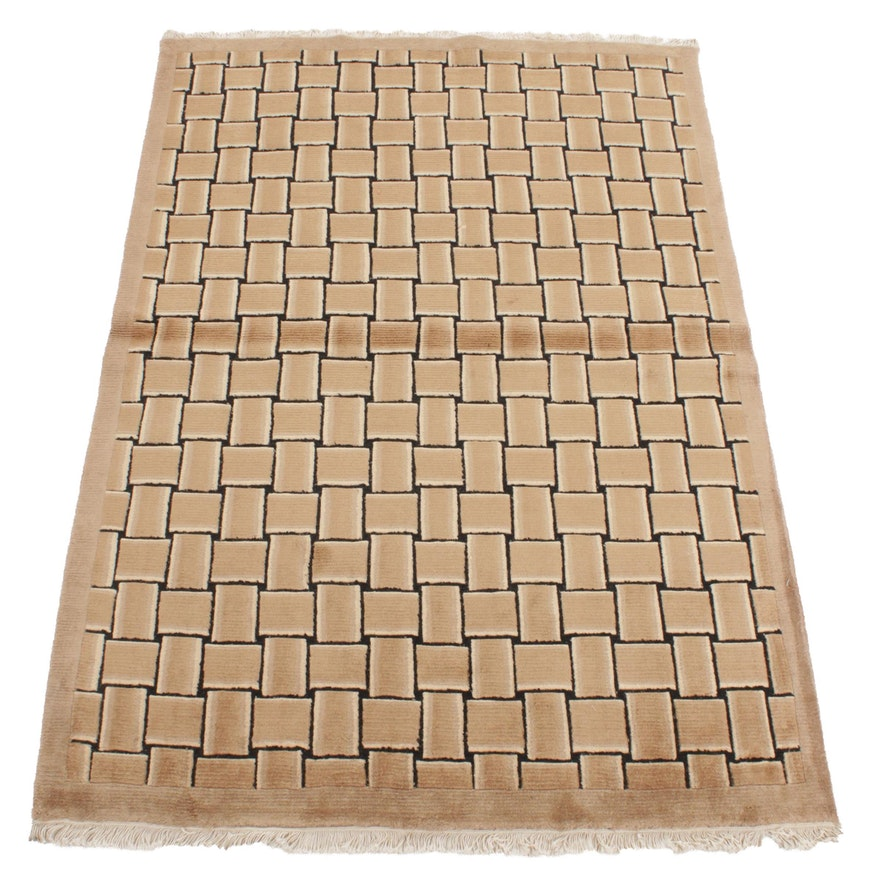 5'1 x 7'8 Handwoven Safavieh Tibetan Wool Area Rug