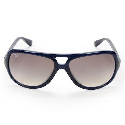 Ray-Ban RB4162 Navy Aviator Sunglasses