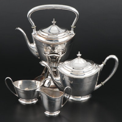 Pairpoint Sheffield Silver Plate Tea Set