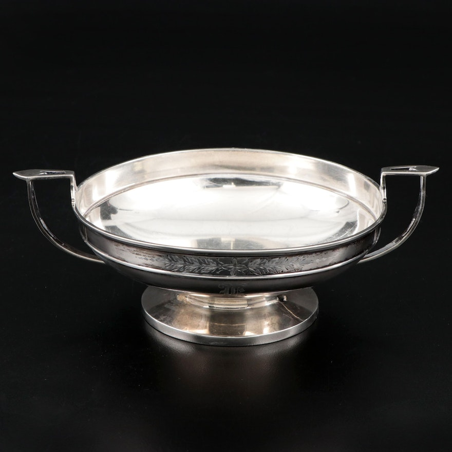 Newburyport Silver Co. Sterling Silver Kylix Bonbon Bowl, Early 20th Century