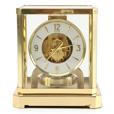 "LeCoultre & Cie ""Atmos"" Perpetual Motion Desk Clock"