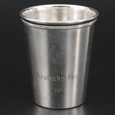 Wm Rogers Silver Plate Mint Julep Cup, 1974