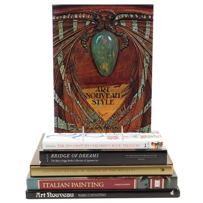 """Art Nouveau,"" ""Italian Painting,"" and Other Art Books"