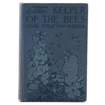 "First Canadian Edition ""The Keeper of the Bees"" by Gene Stratton-Porter, 1925"