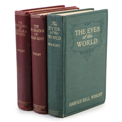 First Edition Books by Harold Bell Wright, Early 20th Century