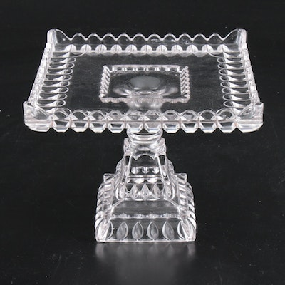"Adams EAPG ""Crystal Wedding"" Cake Stand, Early to Mid 20th Century"