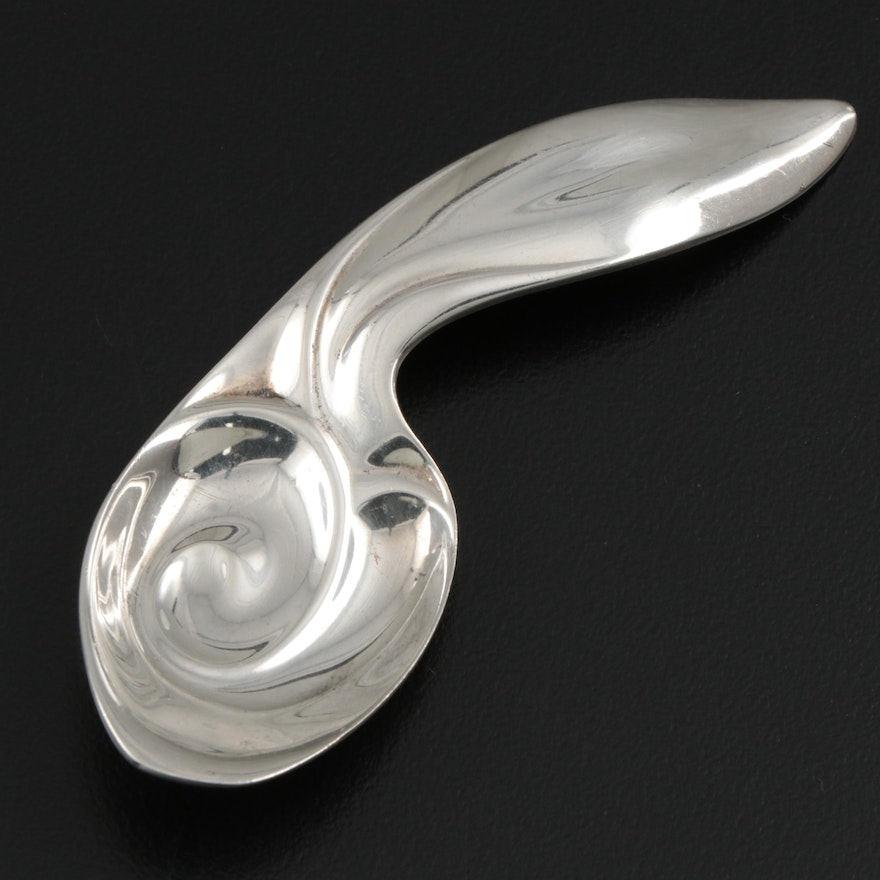 Tiffany & Co. Sterling Silver Caddy Spoon, Mid-20th Century
