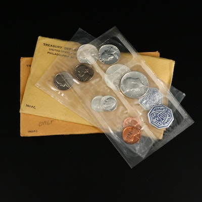 US Mint Proof Sets, 1961-1964