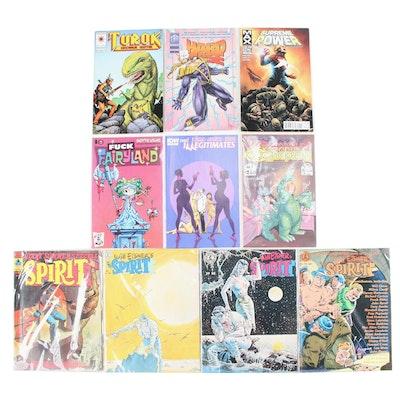 """The Spirit,"" ""Supreme Power,"" ""Turok,"" and Other Comics"