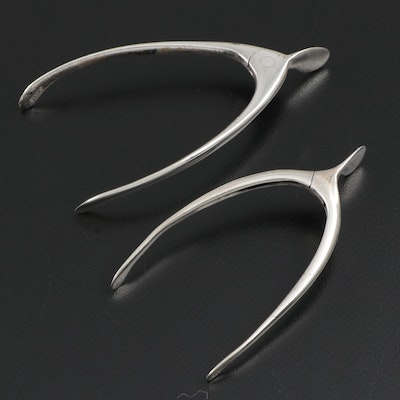 Sterling Silver Wishbone Sugar Tongs