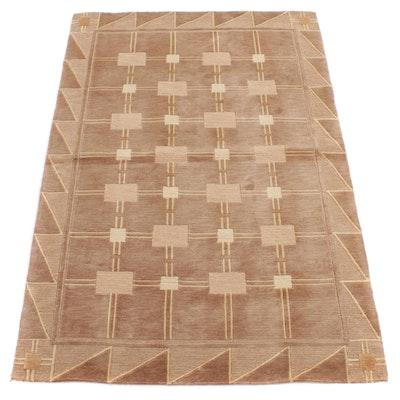 5'1 x 7'7 Hand-Knotted Safavieh Tibetan Wool Area Rug