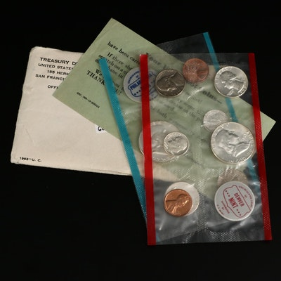 1963 U.S. Mint Uncirculated Set